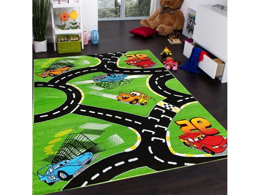 Bardzo dobryFantastyczny Dywan bambino k444c green - Dywany dla dzieci LE94