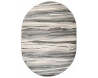 Dywan Sara 00186a owal middle gray