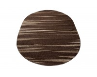 Dywan Sara 003436a owal dark brown