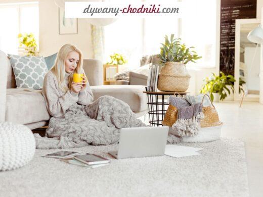 dywan antyalergiczny do salonu